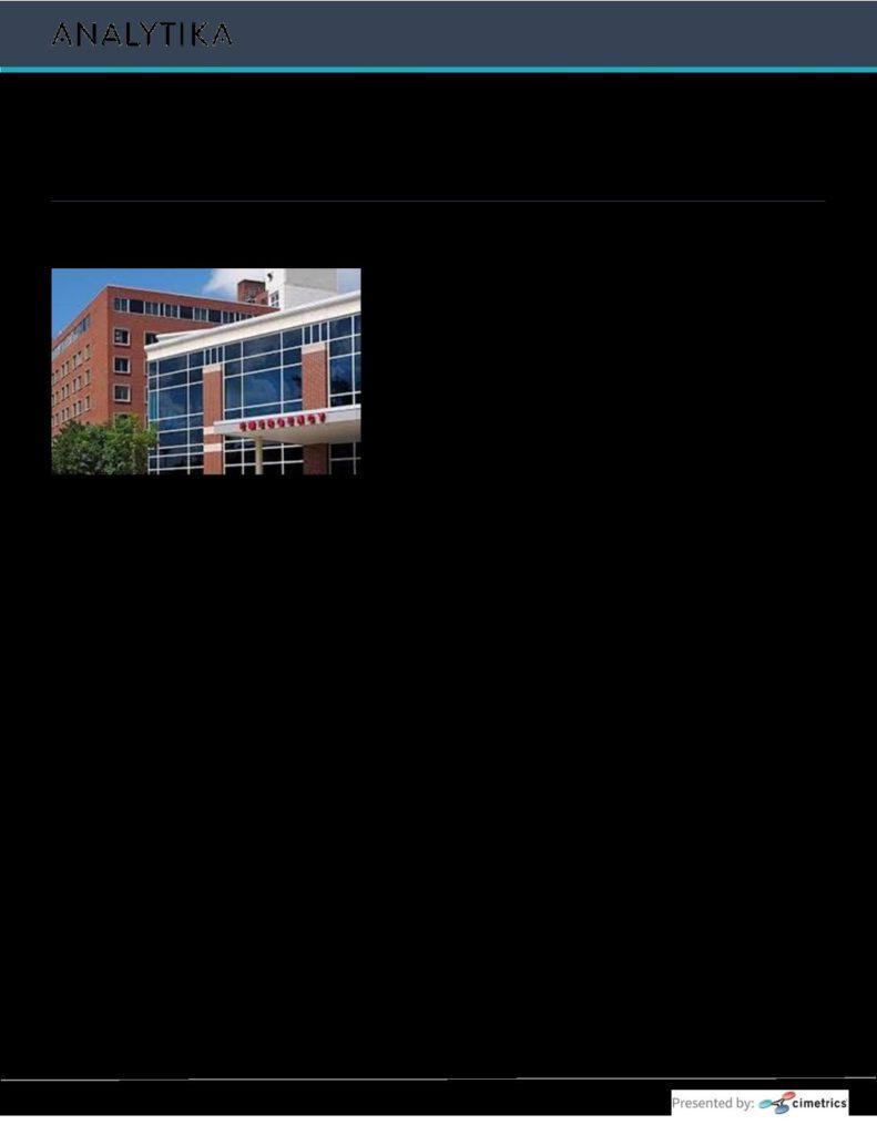 Analytika Hospital Case Study - Building Optimization Services