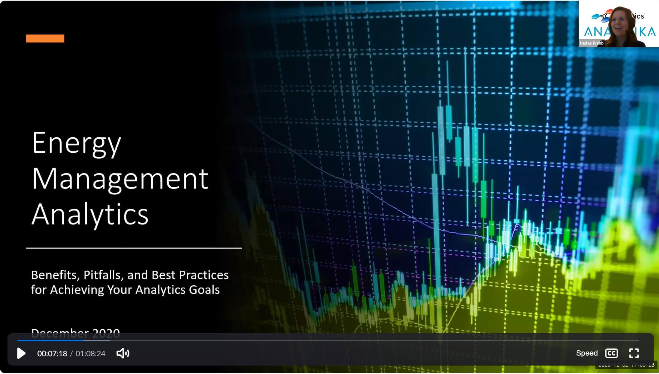 Energy Management Analytics presentation Cimetrics AEE